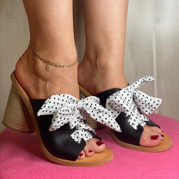 Dolce Vita Size 7 Leather Block Heel